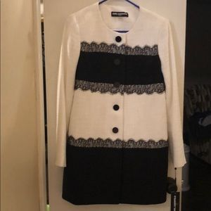 Karl lagerfeld lace coat